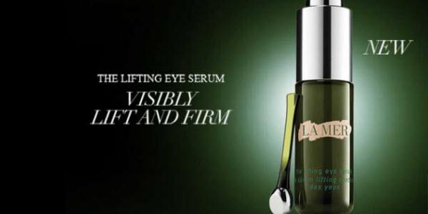 ยกกระชับผิวรอบดวงตาด้วย La Mer the Lifting Eye Serum