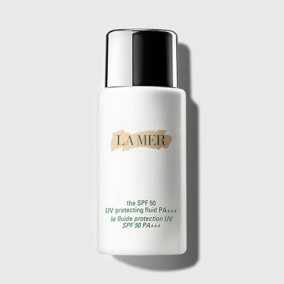 LA MER THE SPF 50 UV PROTECTING FLUID PA+++ 50ML NO BOX