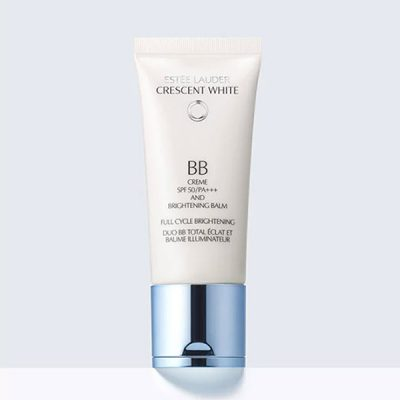 ESTEE LAUDER CRESCENT WHITE FULL CYCLE BRIGHTENING BB CREME SPF50PA++++ & BRIGHTENING BALM 30ML