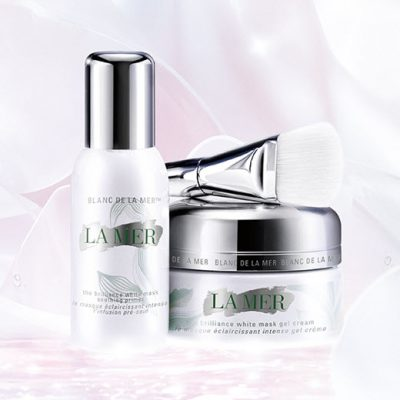 LA MER THE BRILLIANCE WHITE MASK SET NO BOX